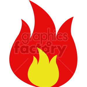 fire vector clipart clipart. Commercial use image # 415827
