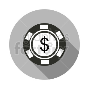 poker chip vector clipart 02 clipart. Commercial use image # 415834
