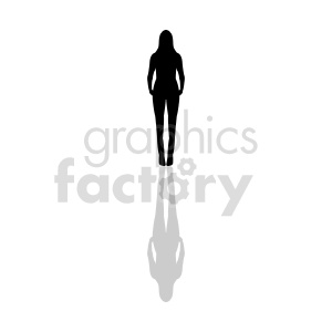 silhouette female body clipart clipart. Commercial use image # 415850