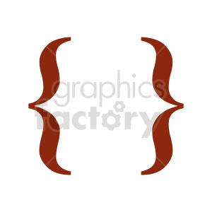 fancy graffa symbol vector clipart clipart. Commercial use image # 415874