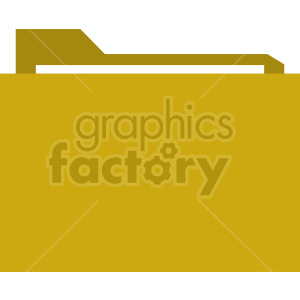 folder vector graphic clipart. Commercial use image # 415893