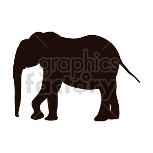 elephant vector clipart clipart. Commercial use image # 415963