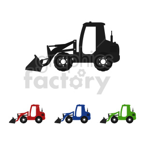 tractor bundle vector clipart clipart. Commercial use image # 416012