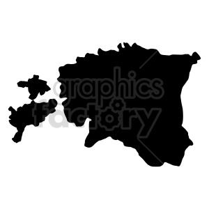 estonia silhouette vector graphic clipart. Commercial use image # 416055