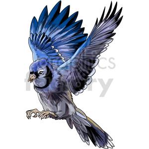 clipart - flying bird vector clipart.