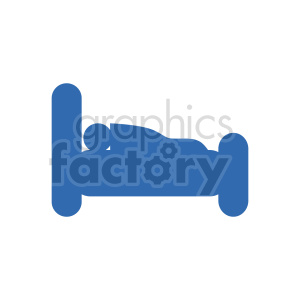bed vector icon clipart. Commercial use image # 416275