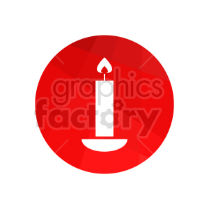 candle vector graphic