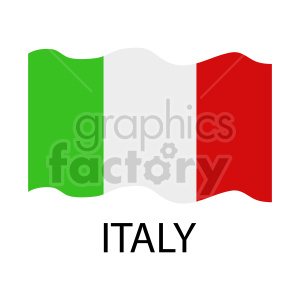 italy flag clipart clipart. Commercial use image # 416311