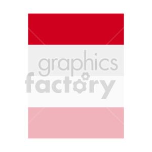 indonesia flag clipart