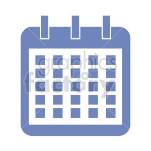 clipart - calendar vector icon.
