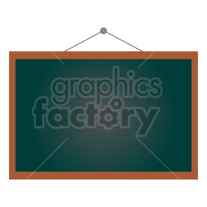 hanging chalkboard vector clipart clipart. Commercial use image # 416410