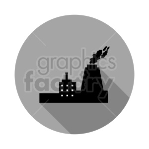 circle factory vector graphic clipart. Commercial use image # 416480