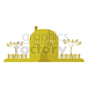 country house vector clipart clipart. Commercial use image # 416484