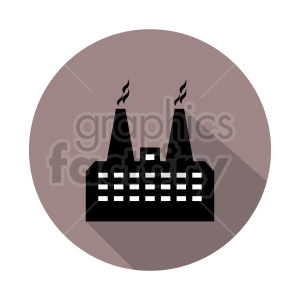factory vector icon clipart. Commercial use image # 416490