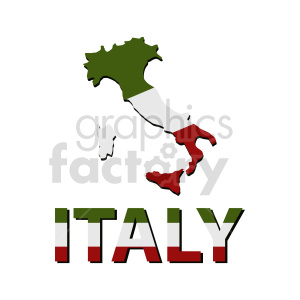 clipart - italy graphic.