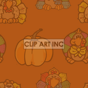 background backgrounds tiled bg thanksgiving pumpkin pumpkins turkeys turkey   102905-turkeys-light Backgrounds Tiled