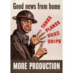 war posters world II   MPW00023 Clip Art Old War Posters
