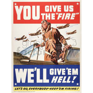 war posters world II   MSP00020 Clip Art Old War Posters