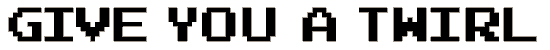 joystix font. Commercial use font # 174608