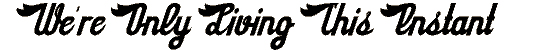 sloe_gin_rickey font. Royalty-free font # 174678