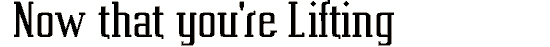 vahika font. Royalty-free font # 174927