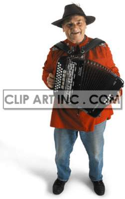 artist male accordion playing standing accordionist performance performer musician concert folklore   3A1008lowres Photos People