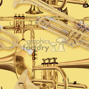 091306-trumpets light background. Commercial use background # 371736