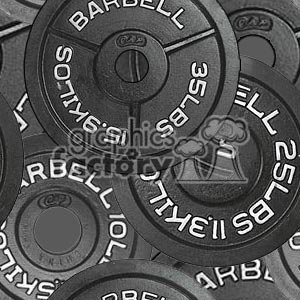 102906-barbells background. Royalty-free background # 372180