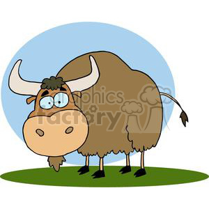 Yak clipart. Commercial use image # 378230