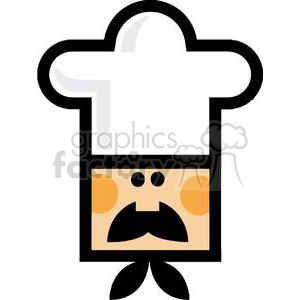 Chefs Face clipart. Commercial use image # 379297