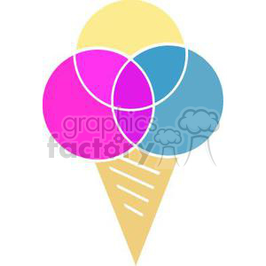 Cartoon Ice Cream clipart. Royalty-free image # 379392