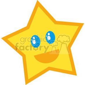 Star Character clipart. Commercial use image # 379682