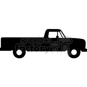 Truck Silhouettes clipart. Commercial use image # 379697