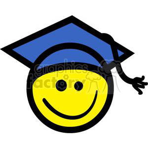 Education Emoticon clipart. Commercial use image # 379702