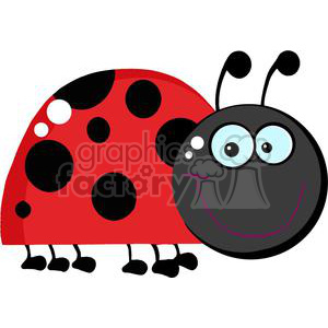 Ladybug Character animation. Commercial use animation # 379707