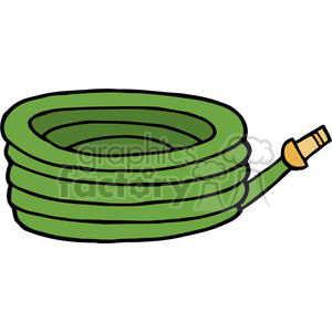 green garden hose clipart. Commercial use image # 379727