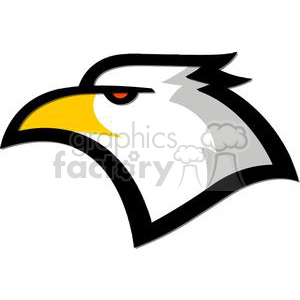 Royalty-Free American Eagle mascot clipart. Royalty-free image # 379807