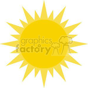 2627-Royalty-Free-Sun clipart. Commercial use image # 379887