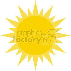 cartoon funny comical vector sun sunshine summer
