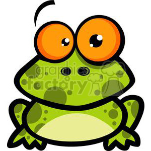 2650-Royalty-Free-Little-Frog-Cartoon-Character clipart. Commercial use image # 379912