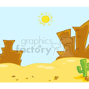 2704-Western-Landscape clipart. Commercial use image # 379982