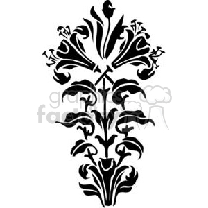 flower bush clipart. Commercial use image # 380139