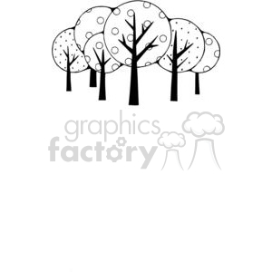 Tree-Group clipart. Royalty-free image # 380189