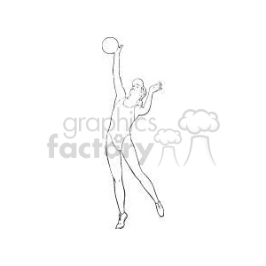Sport057-bw clipart. Commercial use image # 381201