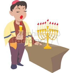 hanukkah-012 clipart. Royalty-free image # 381490