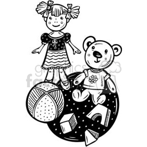 toys clipart. Commercial use image # 381495