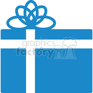 cartoon Christmas gift clipart. Royalty-free image # 383704