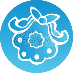 Christmas wreath icon clipart. Royalty-free icon # 383709
