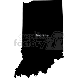 IN-Indiana clipart. Commercial use image # 383749