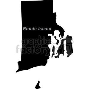 RI-Rhode Island clipart. Commercial use image # 383774